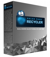 Sales Page Recycler Software with private label rights