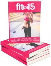Fit In 15 eBook with private label rights