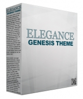 Elegance Genesis WordPress Theme Template with Personal Use Rights/Developers Rights