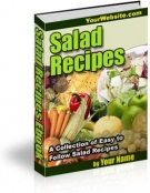 Salad Recipes eBook with Master Resale Rights