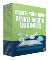 Create Your Own Resale Rights Business Audio with private label rights