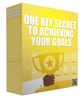 One Key Secret to Achieving Your Goals Audio with Master Resell Rights