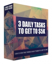 3 Daily Tasks to Get to $5K Audio with Master Resell Rights