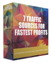 7 Sources for Fastest Profits Audio with Master Resell Rights