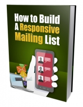 Build A Responsive Mailing List eBook with Private Label Rights