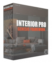 Interior Pro Genesis Framework WP Theme Template with private label rights