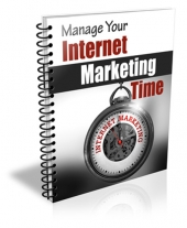 Manage Your Internet Marketing Time Gold Article with Private Label Rights