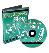 Easy Authority Blog Video Course Video with Private Label Rights