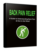 Back Pain Relief eBook with Private Label Rights