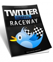 Twitter Traffic Raceway eBook with private label rights
