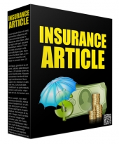 Insurance Article Package 2017 Gold Article with Private Label Rights