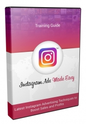 Instagram Ads Made Easy OTO Video with Personal Use Rights