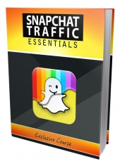 SnapChat Traffic Essentials eBook with private label rights