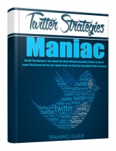 Twitter Strategies Maniac eBook with Personal Use Rights