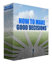 How to Make Good Decisions Podcast Audio with Master Resell Rights