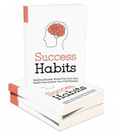 Success Habits eBook with private label rights