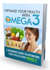 Optimize Your Health with Omega 3 eBook with private label rights