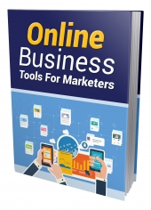 Online Business Tools For Marketers eBook with Private Label Rights