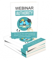 Webinar Authority eBook with private label rights