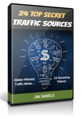 24 Top Secret Traffic Sources Video with Personal Use Rights