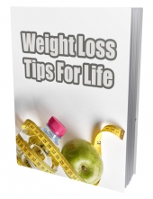 Weight Lost Tips for Life Gold Article with private label rights