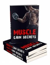 Muscle Gain Secrets eBook with private label rights