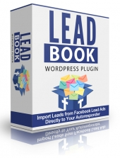 Lead Book WP Plugin Software with Personal Use Rights