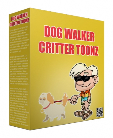 Dog Walker Critter Toonz