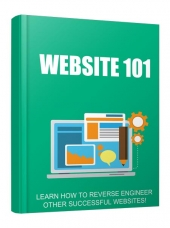 Website 101 eBook with Personal Use Rights