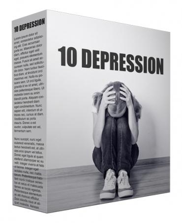 10 Depression PLR Article Bundle