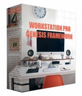 Workstation Pro Genesis Theme Framework Template with Personal Use Rights/Developers Rights