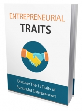 Entrepreneurial Traits eBook with Master Resell Rights