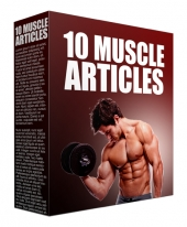 10 Muscle Article 2017 Edition Gold Article with private label rights
