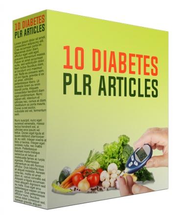 10 Diabetes PLR Articles March 2017