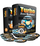 TurboZon Builder Pro Software with Personal Use Rights