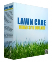 Lawn Care Video Site Builder Software with private label rights
