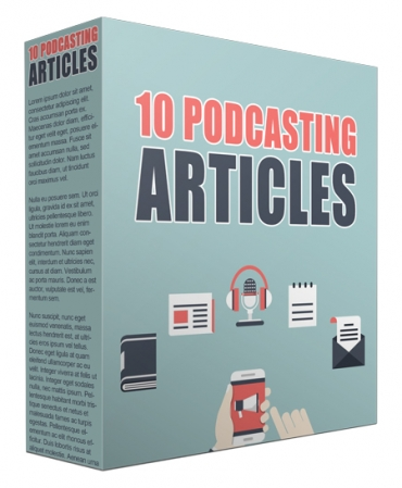 10 Podcasting Articles
