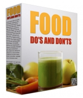 Food Dos and Donts Newsletters Gold Article with private label rights