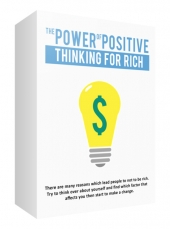 The Power of Positive Thinking For Rich eBook with private label rights
