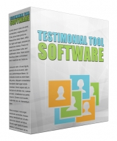 Testimonial Tool Software Software with Private Label Rights