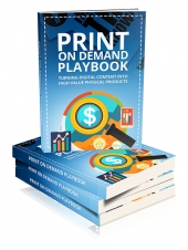Print On Demand Playbook eBook with private label rights