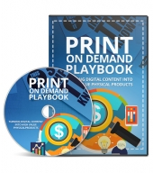 Print On Demand Playbook Hands On Video with private label rights