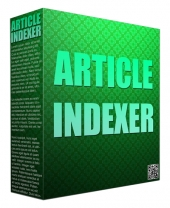 Article Indexer Pro Software with Private Label Rights/Giveaway Rights
