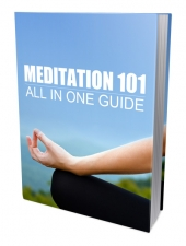 Meditation 101 eBook with Personal Use Rights