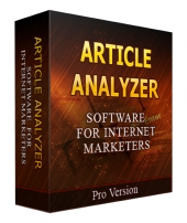 Article Analyzer Software with Private Label Rights