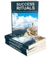 Success Rituals eBook with Master Resell Rights/Giveaway Rights