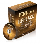 Find and Replace PLR Software Software with Private Label Rights