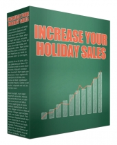 Increase Your Holiday Sales Video with Resell Rights/Giveaway Rights