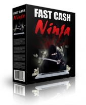 Fast Cash Ninja Software with Private Label Rights/Giveaway Rights
