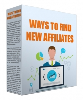 Ways To Find New Affiliates Video with Resell Rights/Giveaway Rights